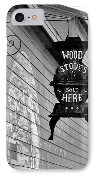 Wood Stoves Sold Here IPhone Case