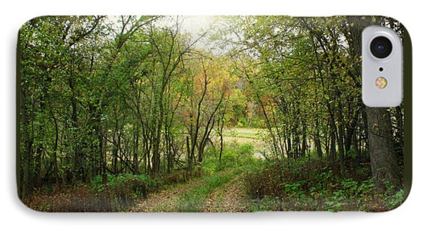 Wooded Path IPhone Case by Inspired Arts