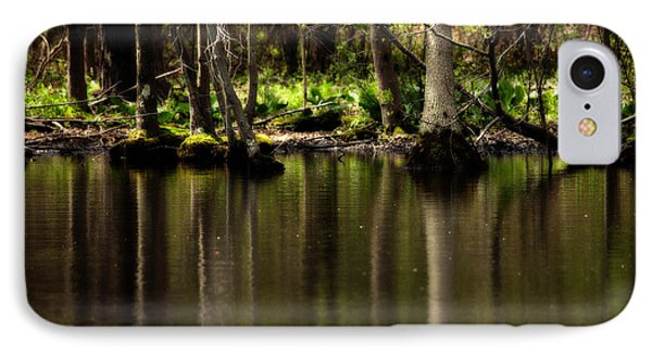 Wooded Reflection Phone Case by Karol Livote