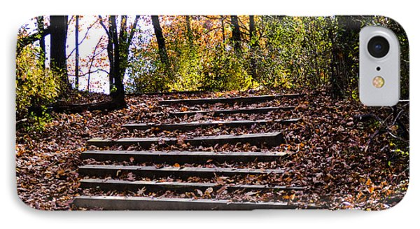 Wooded Stairs IPhone Case
