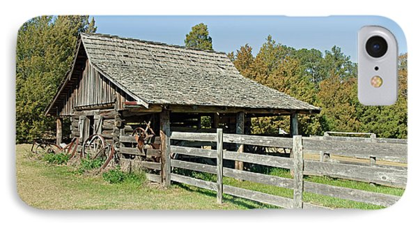 IPhone Case featuring the photograph Wooden Barn by Charles Beeler