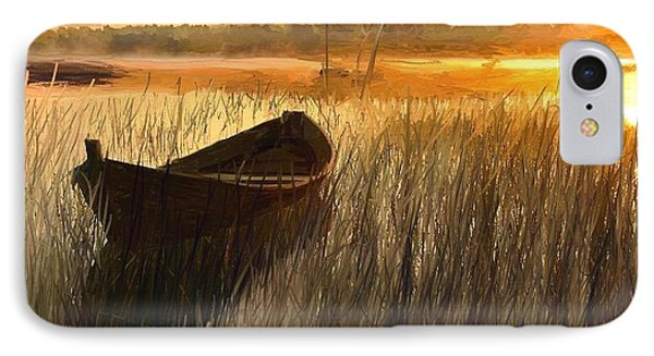 Wooden Boat Finland IPhone Case
