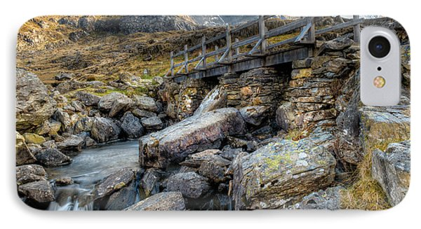 Wooden Bridge Phone Case by Adrian Evans