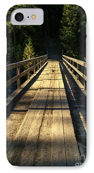 IPhone Case featuring the photograph Wooden Bridge by Sue Smith