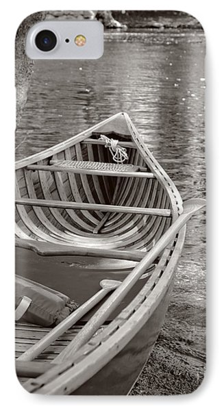 Wooden Canoe IPhone Case