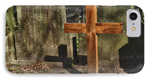 Wooden Cross Phone Case by Hans Engbers