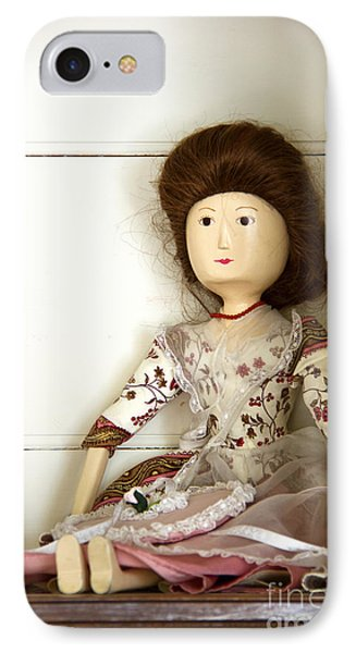 Wooden Doll Phone Case by Margie Hurwich