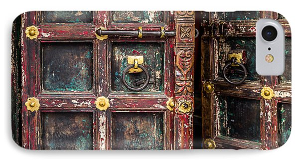 Wooden Door Phone Case by Catherine Arnas