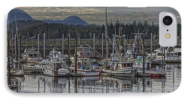 IPhone Case featuring the photograph Wooden Fishing Boats by Timothy Latta