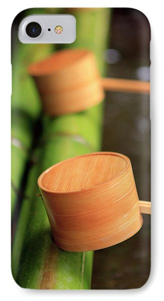 Wooden Ladles Are Placed IPhone Case by Paul Dymond