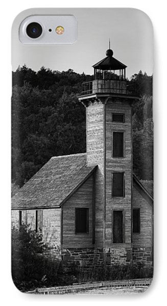 Wooden Lighthouse IPhone Case by Sebastian Musial