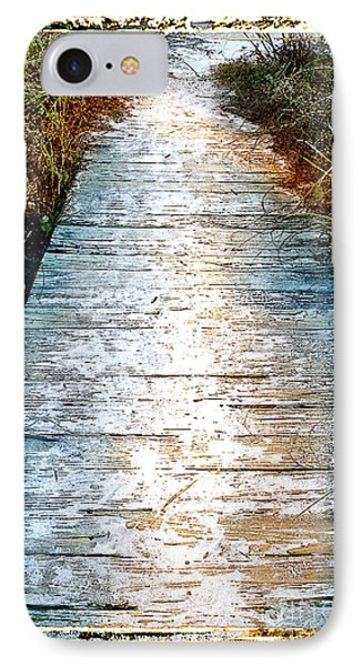 Wooden Path IPhone Case by Linda Olsen