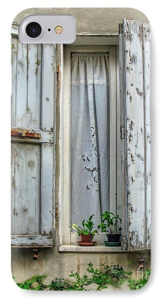 Wooden Shutters In Urbino IPhone Case