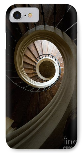 Wooden Spiral IPhone Case by Jaroslaw Blaminsky