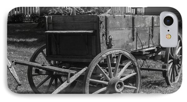 IPhone Case featuring the photograph Wooden Wagon by Robert Hebert