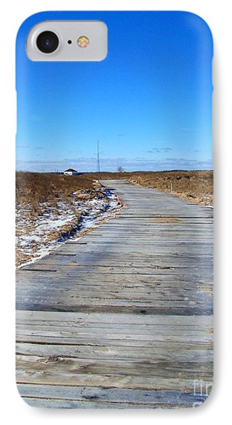 IPhone Case featuring the photograph Plum Island by Eunice Miller