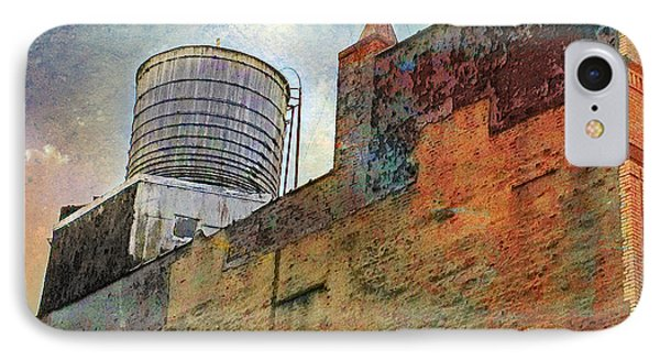 Wooden Water Tower New York City Roof Top IPhone Case
