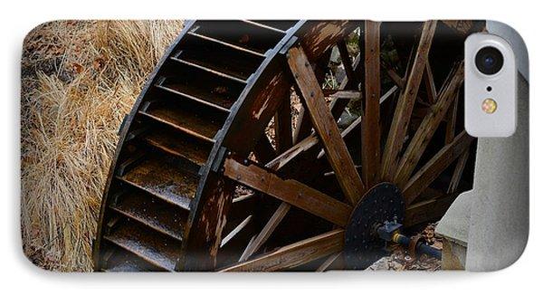 Wooden Water Wheel Phone Case by Paul Ward