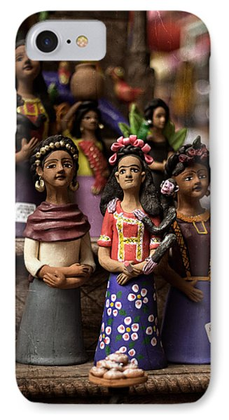 Wooden Women Of South America IPhone Case