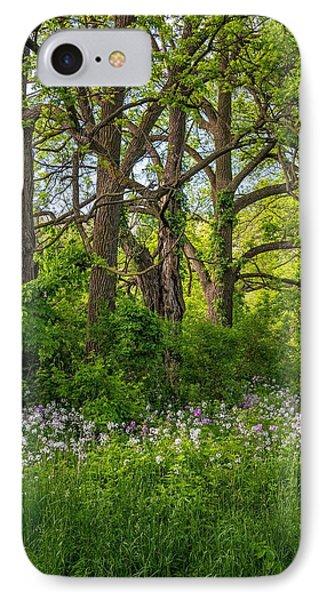 Woodland Phlox 2 Phone Case by Steve Harrington
