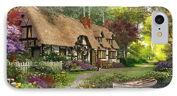 Woodland Walk Cottage IPhone Case by Dominic Davison