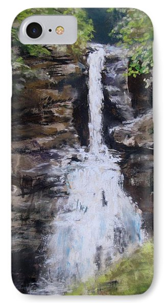Woodland Waterfall Phone Case by Jack Skinner