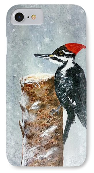 Woodpecker IPhone Case by Valorie Cross