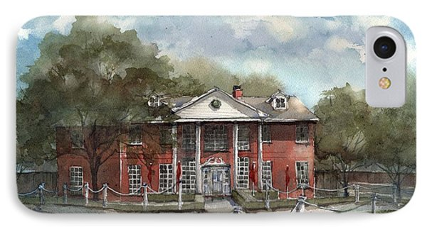 Woodrow House IPhone Case by Tim Oliver