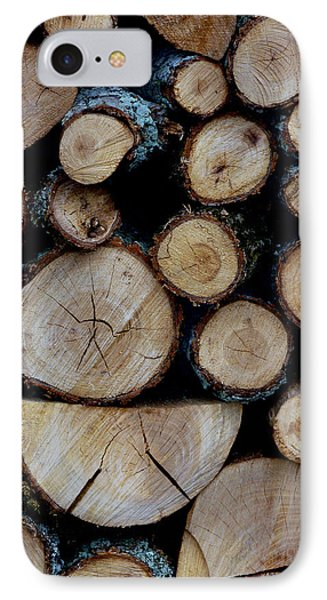 IPhone Case featuring the photograph Woods For The Fireplace 004 by Dorin Adrian Berbier