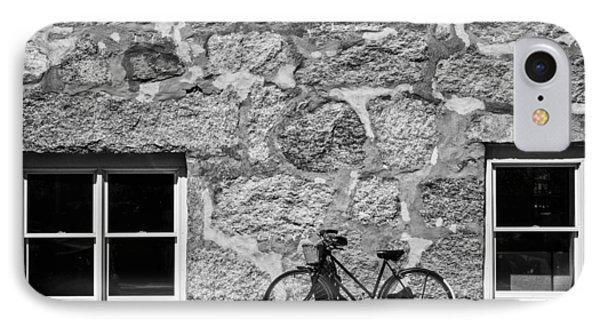 Woods Hole Bike Wall IPhone Case
