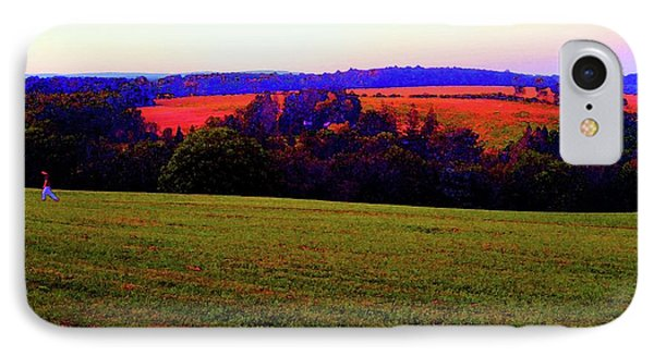 Woodstock - Farm - Yasgurs IPhone Case by Susan Carella