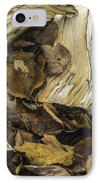 Woodwork 4 IPhone Case by Michael Canning