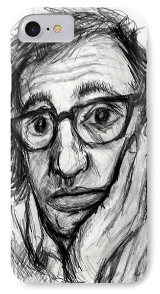 Woody Allen IPhone Case