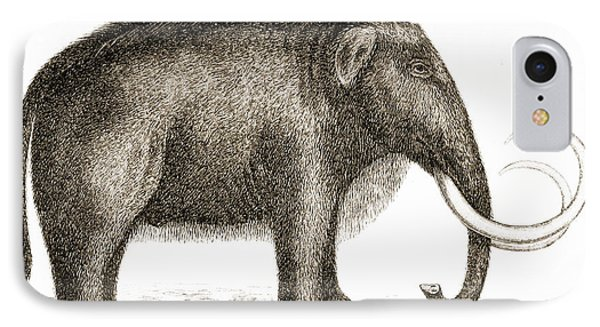 Woolly Mammoth Phone Case by British Library