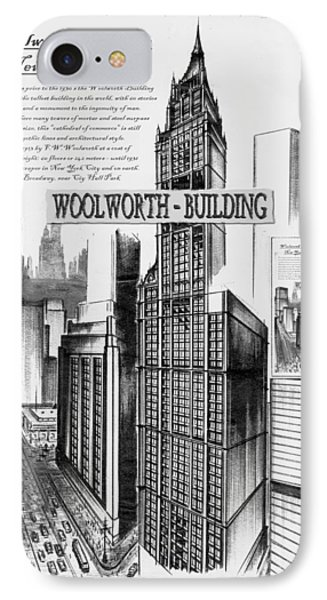 New York Woolworth Building 75 IPhone Case