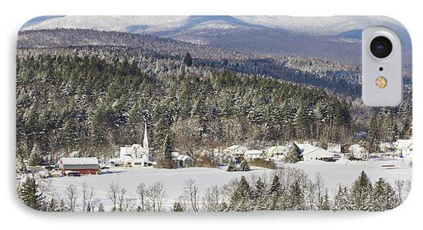 Worcester Vermont Winter IPhone Case by Alan L Graham