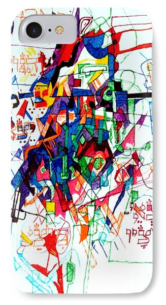 Words Of The Tzaddik 1 Phone Case by David Baruch Wolk