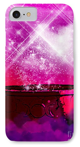 Work The Magic IPhone Case by Persephone Artworks