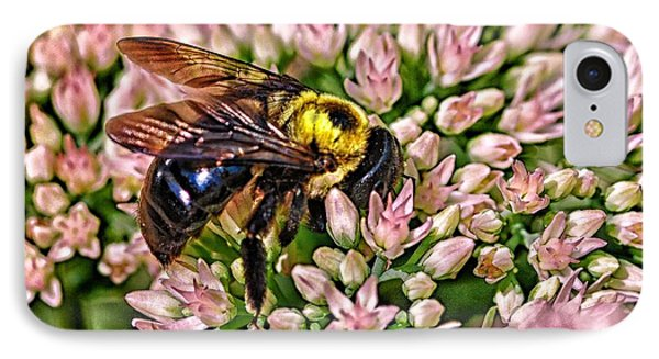 IPhone Case featuring the photograph Busy Bee by JRP Photography