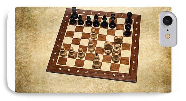 World Chess Champions - Wilhelm Steinitz - 1 Phone Case by Alexander Senin