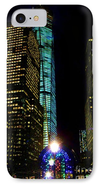 World Financial Center Phone Case by Mariola Bitner
