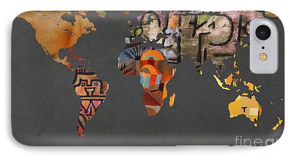 Paul Klee 1  World Map IPhone Case
