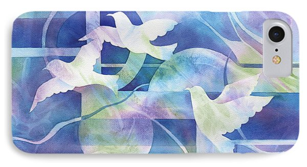 World Peace Phone Case by Deborah Ronglien