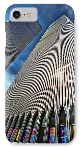 World Trade Center  IPhone Case by Allen Beatty