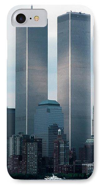 World Trade Center IPhone Case by KG Thienemann