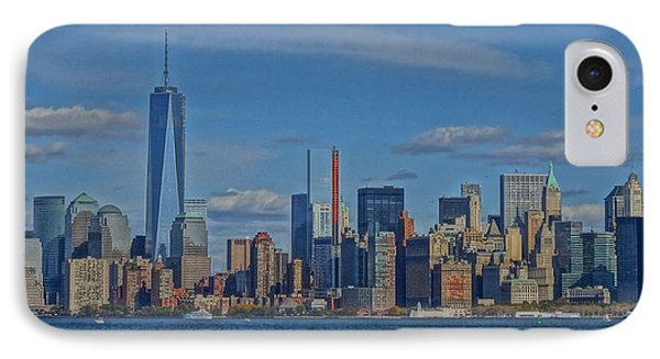 World Trade Center Painting IPhone Case