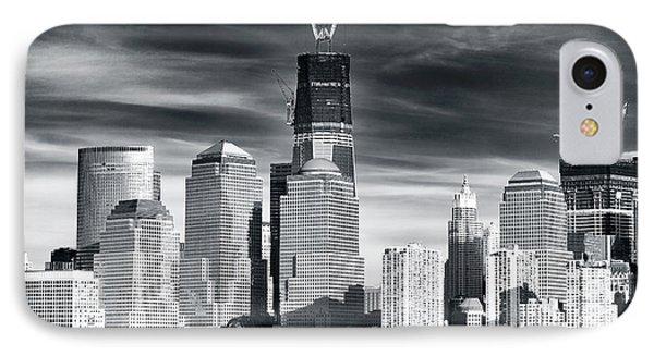 World Trade Center Rebirth Phone Case by John Rizzuto