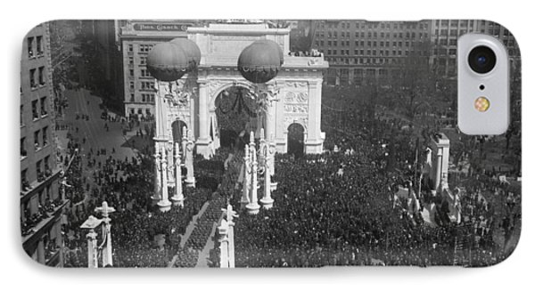 World War I 27th Parade IPhone Case by Granger