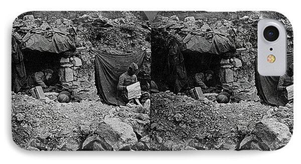 World War I Camp, C1917 IPhone Case by Granger