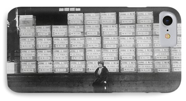 World War I Cigarette Shipment IPhone Case